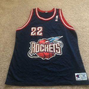 Champion Vintage Houston Rockets Jersey